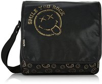 Herlitz be.bag Messenger Bag Smiley World Golden Rock