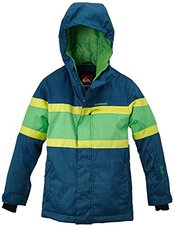 Quiksilver Fraction Youth Jkt Moroccan Blue