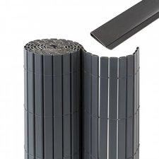 Jarolift Premium Sichtschutzmatte PVC mit Abdeckprofil BxH: 500 x 140 cm