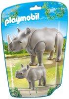 Playmobil Nashorn mit Baby (6638)