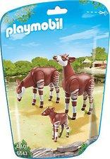 Playmobil 2 Okapis mit Baby (6643)