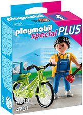 Playmobil Special Plus - Handwerker mit Fahrrad (4791)