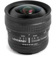 Lensbaby Circular Fisheye 5.8mm f3.5 [Samsung NX]