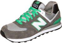 New Balance 574 dark grey/green oasis (ML574CPF)