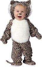 Horror-Shop Plüsch Leopard Babykostüm (17285)