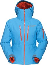Norrona Lofoten Gore-Tex Primaloft Jacket W Caribbean blue