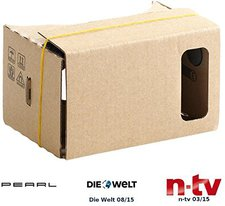 Pearl Virtual-Reality-Brille VRB50.3D für Smartphones