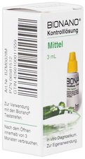 Imaco Bionano Blutzucker Kontrolllösung mittel (3 ml)