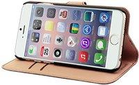 Muvit Wallet Folio Stand Case (iPhone 6) braun