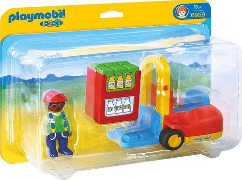Playmobil 1.2.3 Gabelstapler (6959)