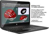 Hewlett Packard HP ZBook 14 G2 (J8Z74ET)