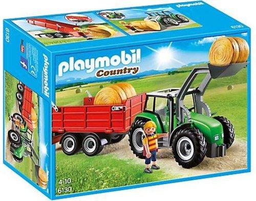 Playmobil Country - Großer Traktor mit Anhänger (6130)