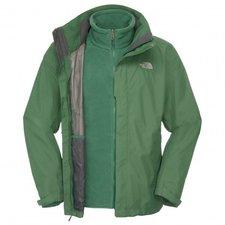 The North Face Men's Evolution II Triclimate Jacket Burnt Olive Green / Black Ink Green