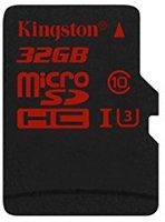 Kingston microSDHC 32GB Class 10 UHS-I U3 (SDCA3/32GBSP)