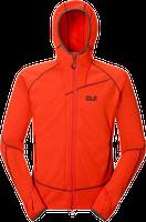 Jack Wolfskin Prime Dynamic Jacket Men Bright Pumpkin