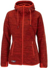 Bergans Hareid Lady Jacket Red Mel
