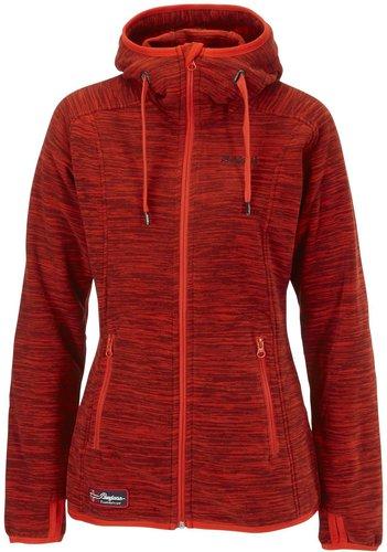 Bergans Hareid Lady Jacket Red Mel