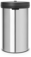 Brabantia Big Bin 60L Matt Steel Fingerprint Proof Black