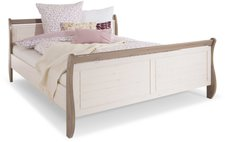 Steens Furniture Ltd Monaco Bett weiß grau (180 x 200 cm)