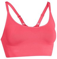 Under Armour Women's UA Seamless Essential Sports Bra pink shock