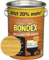 Bondex Holzlasur für außen 4,8 l Eiche hell