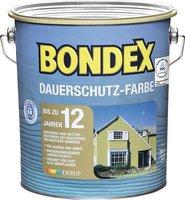 Bondex Dauerschutz-Farbe 2,5 l schneeweiß
