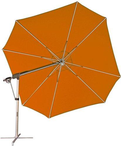 Doppler Protect Ø 400 cm Pendelschirm terracotta