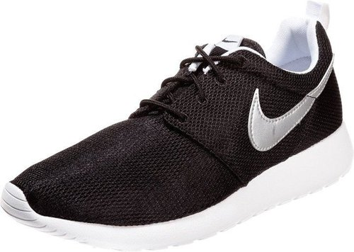 Nike Roshe Run GS black/metallic silver/white