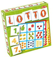 Tactic Games Lotto numery i owoce (polnisch)