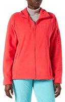Columbia Women's Fast Trek II Jacket Red Hibiscus