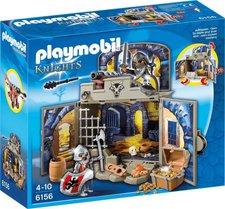 """Playmobil Knights - Aufklapp-Spiel-Box  """"Ritterschatzkammer """" (6156)"""