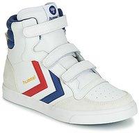 Hummel Stadil Leather High Jr white/blue/red