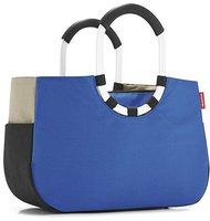 Reisenthel Loopshopper M patchwork royal blue