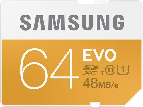 Samsung SDHC/SDXC EVO Class 10 UHS-I