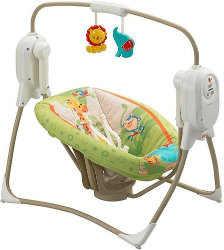 Fisher Price Rain­fo­rest Ba­by­schau­kel BFH05