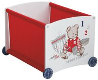 Roba Stapelbox Teddy college rot
