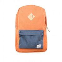 Herschel Heritage Backpack carrot/navy/khaki rubber