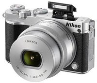 Nikon 1 J5 Kit 10-30 mm silber
