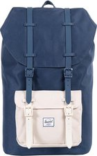 Herschel Little America Backpack navy/natural/flamingo/navy & natural rubber