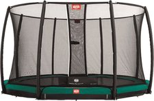 Berg Toys Trampolin InGround Favorit 270 cm mit Sicherheitsnetz Deluxe