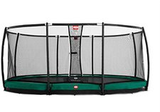Berg Toys Trampolin InGround Grand Champion 515 x 380 cm mit Sicherheitsnetz