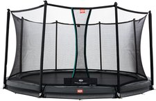 Berg Toys Trampolin InGround Champion 380 cm mit Sicherkeitsnetz Comfort
