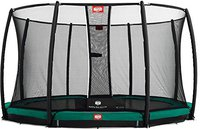 Berg Toys Trampolin InGround Champion 430 cm mit Sicherkeitsnetz Deluxe