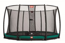Berg Toys Trampolin InGround Favorit 330 cm mit Sicherheitsnetz Deluxe