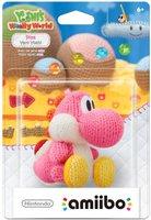 Nintendo amiibo: Yoshi's Woolly World Collection - rosa Woll-Yoshi