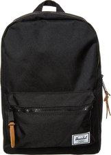Herschel Settlement Kids Backpack black/tan pebbled back tab