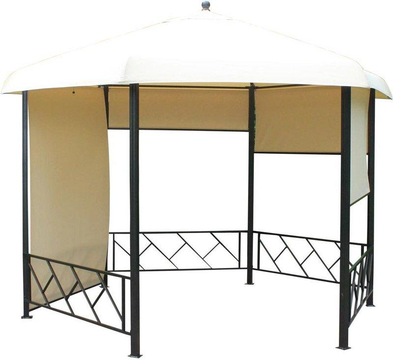 leco 6 eck pavillon 3 5 m preisvergleich ab 399 00. Black Bedroom Furniture Sets. Home Design Ideas