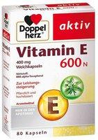 Doppelherz aktiv Vitamin E 600 N Weichkapseln (80 Stk.)
