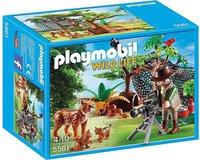 Playmobil Wild Life - Luchsfamilie mit Tierfilmer (5561)