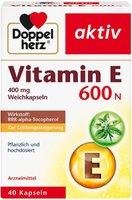 Doppelherz aktiv Vitamin E 600 N Kapseln (40 Stk.)